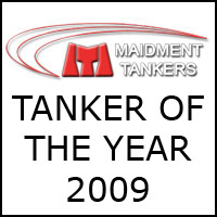 Winner of the Best Tanker Award 2009